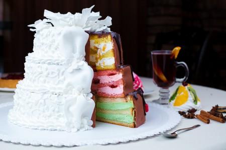 Как рассчитать торт на свадьбу?