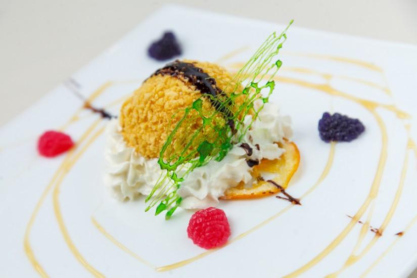 Десерт Жареное Мороженое 100г