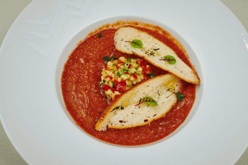 Суп томатный Гаспачо 300/10г
