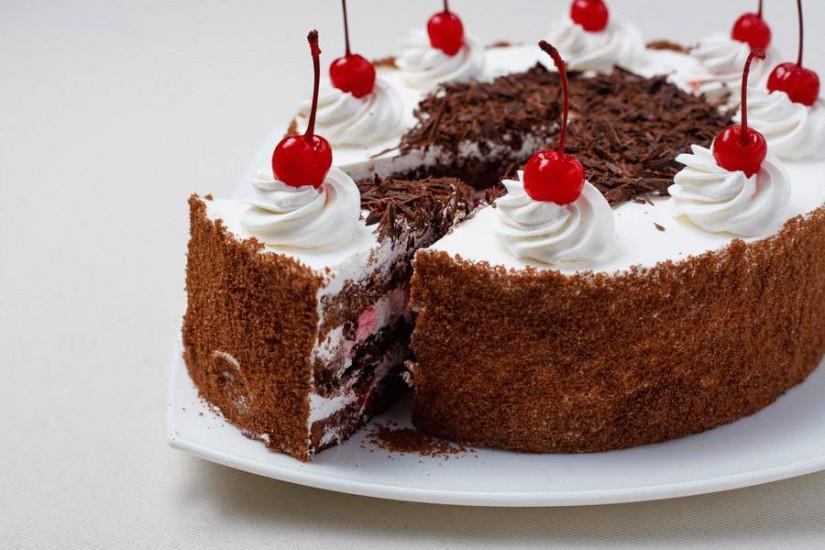 Торт Черный лес 1кг