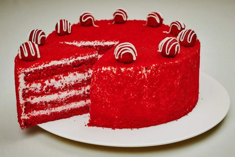 Торт Красный бархат 1кг