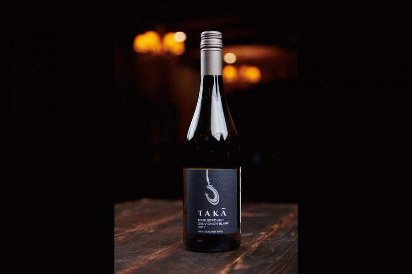 Вино Така Совиньон Блан белое сухое 0,75л
