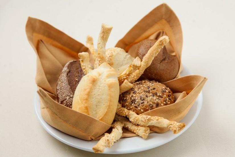 Хлебная корзинка с гриссини 210г