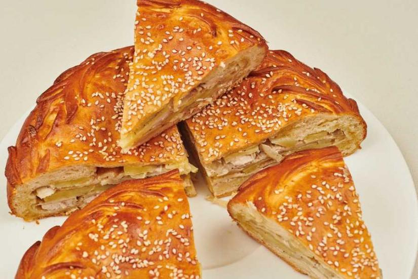 Пирог Курник с картофелем 1кг