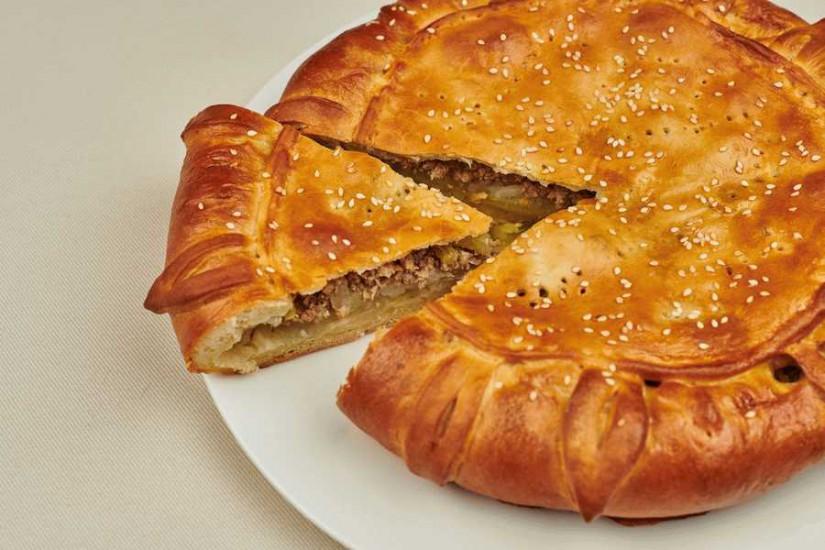 Пирог Рассольник мясной с картофелем 1кг