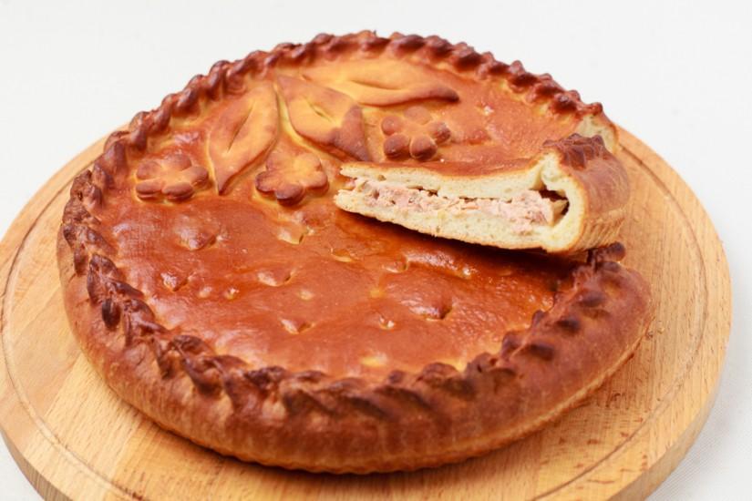 Пирог с горбушей 1кг