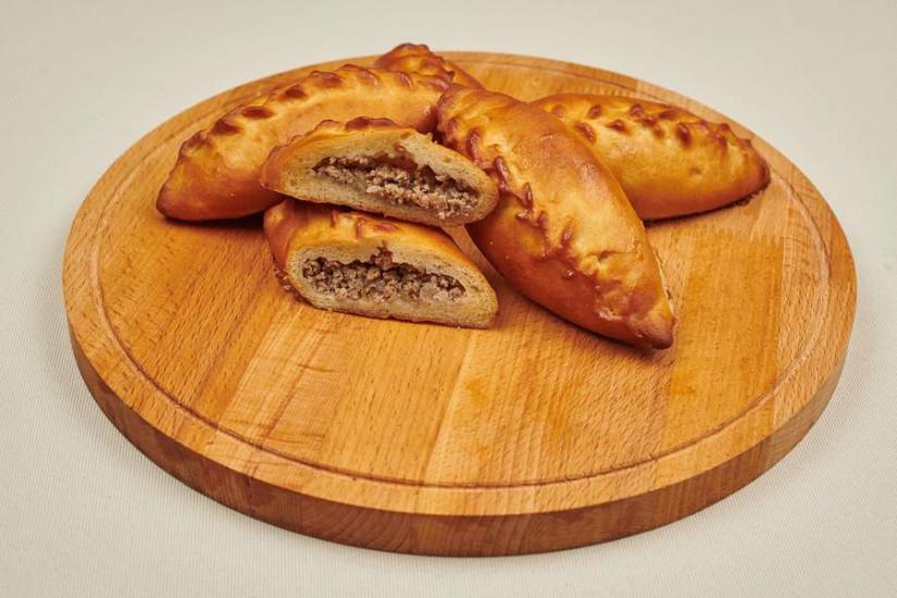 Пирожок с мясом 80г